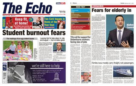 Evening Echo – April 11, 2020