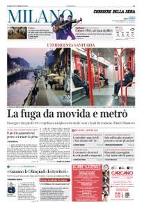 Corriere della Sera Milano – 25 febbraio 2020