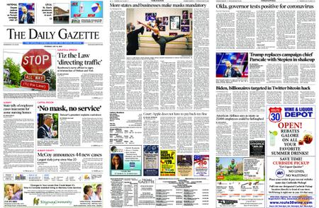 The Daily Gazette – July 16, 2020