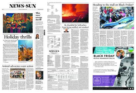 Lake County News-Sun – November 22, 2018