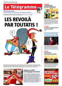 Le Télégramme Concarneau – 23 octobre 2019