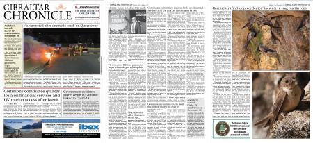 Gibraltar Chronicle – 23 November 2020