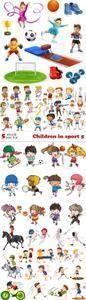 Vectors - Children in sport 5