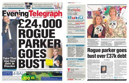 Evening Telegraph First Edition – October 12, 2017