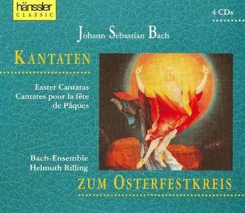 Johann Sebastian Bach - Kantaten zum Osterfestkreis (1993) (4CD) (Helmuth Rilling) {Haenssler}