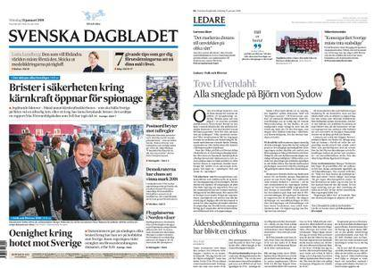 Svenska Dagbladet – 15 januari 2018