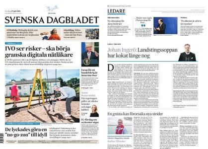 Svenska Dagbladet – 27 juli 2018