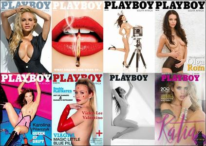 Playboy South Africa - Full Year 2015 Issues Collection (Uncensored)