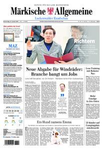 Märkische Allgemeine Luckenwalder Rundschau - 31. Januar 2019