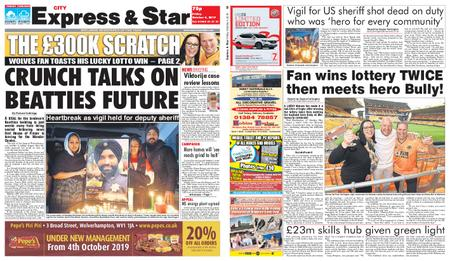 Express and Star City Edition – October 04, 2019