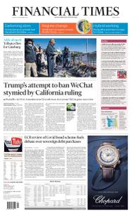 Financial Times Middle East - September 21, 2020