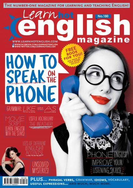 Learn Hot English - Issue 180 - May 2017