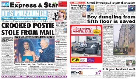 Express and Star City Edition – December 26, 2017
