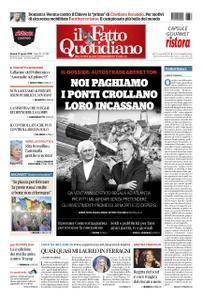Il Fatto Quotidiano - 17 agosto 2018