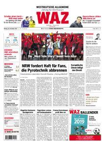 WAZ Westdeutsche Allgemeine Zeitung Oberhausen-Sterkrade - 26. November 2018