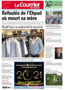 Le Courrier de l'Ouest Cholet – 31 décembre 2020