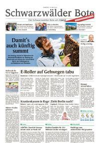 Schwarzwälder Bote Sulz - 18. Mai 2019