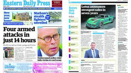Eastern Daily Press – January 11, 2019