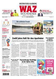 WAZ Westdeutsche Allgemeine Zeitung Oberhausen-Sterkrade - 07. Juli 2018