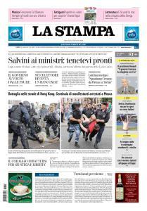 La Stampa Torino Provincia e Canavese - 13 Giugno 2019