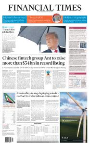 Financial Times Asia - October 27, 2020