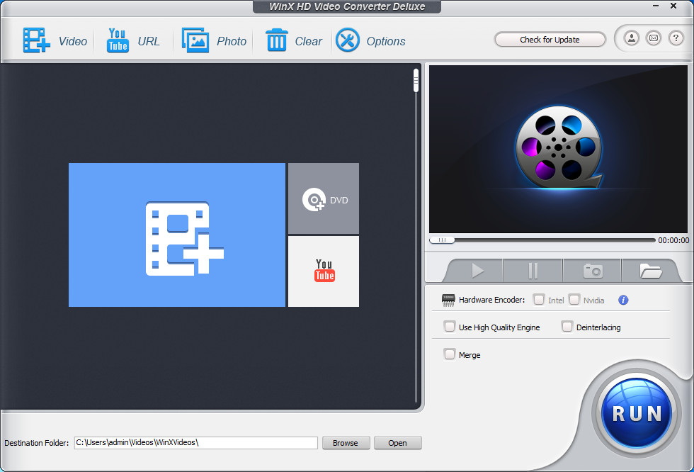 WinX HD Video Converter Deluxe 5.9.6 Multilingual Portable