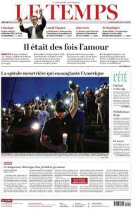 Le Temps - 05 août 2019