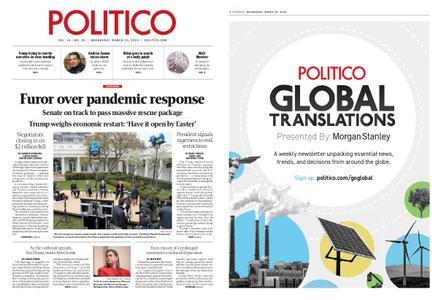 Politico – March 25, 2020