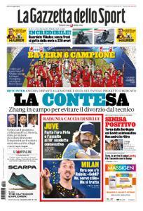 La Gazzetta dello Sport Roma – 24 agosto 2020