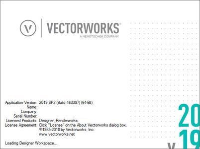 Vectorworks 2019 SP5.2 (x64)