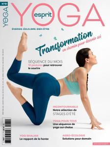 Esprit Yoga - Mai-Juin 2021