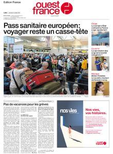 Ouest-France Édition France – 02 juillet 2021