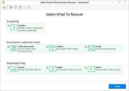 Stellar Phoenix Windows Data Recovery Professional / Technician 7.0.0.3