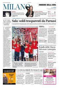 Corriere della Sera Milano - 16 Giugno 2018