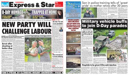Express and Star Sandwell Edition – May 21, 2019