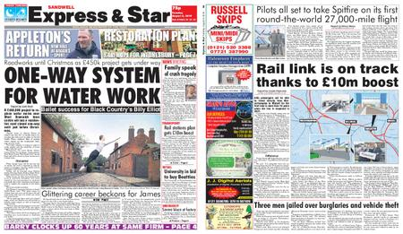 Express and Star Sandwell Edition – August 06, 2019