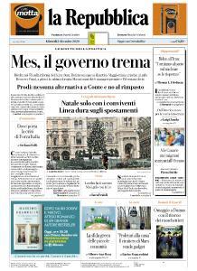 la Repubblica - 3 Dicembre 2020