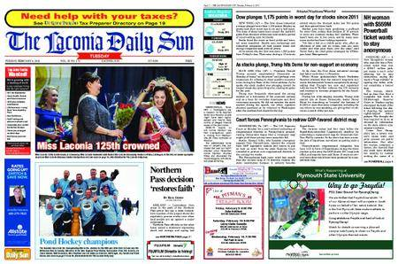 The Laconia Daily Sun – February 06, 2018
