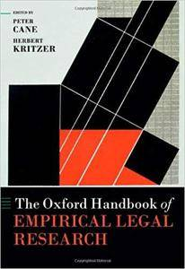 The Oxford Handbook of Empirical Legal Research (Oxford Handbooks)