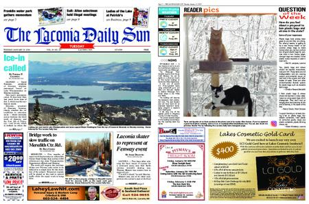 The Laconia Daily Sun – January 15, 2019