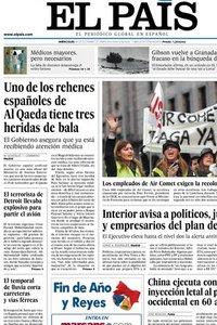 El País. 30 Diciembre