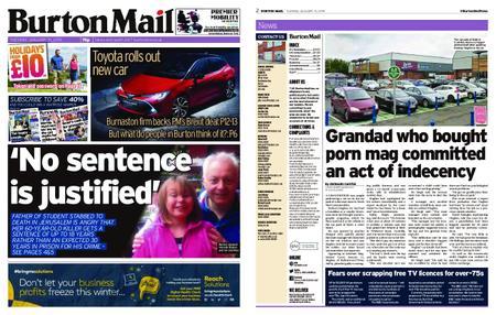 Burton Mail – January 15, 2019
