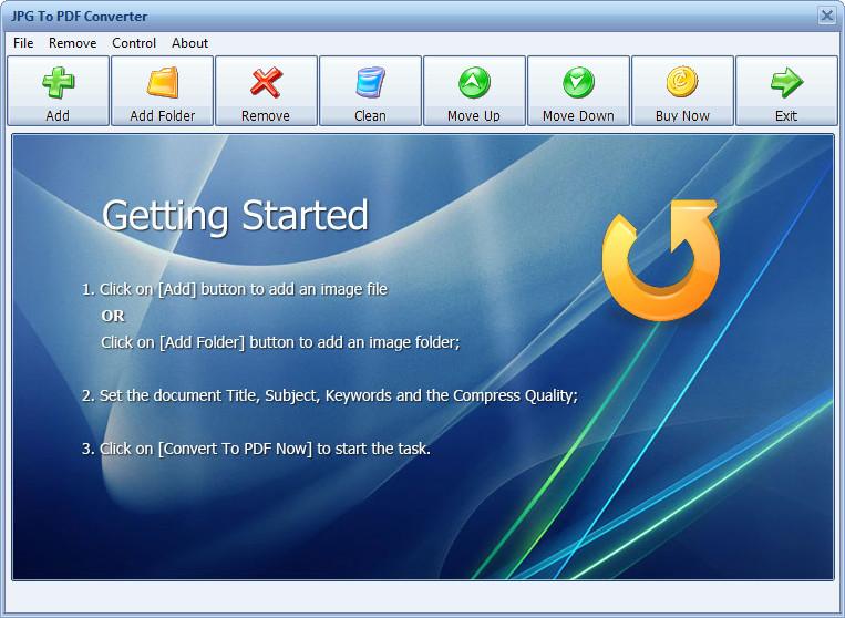 JPG To PDF Converter 6.4.0
