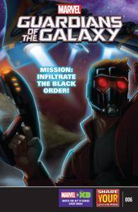 Marvel Universe Guardians of the Galaxy 006 2016 Digital