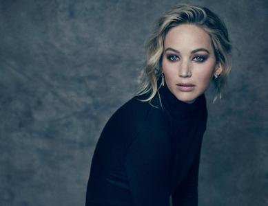 Jennifer Lawrence by Miller Mobley for The Hollywood Reporter December 2017