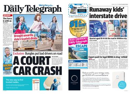 The Daily Telegraph (Sydney) – July 15, 2019