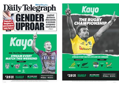 The Daily Telegraph (Sydney) – August 09, 2019
