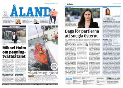 Ålandstidningen – 10 december 2019