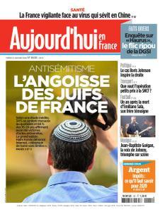 Aujourd'hui en France - 21 Janvier 2020