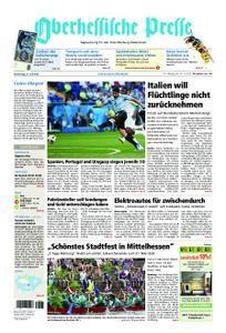 Oberhessische Presse Marburg/Ostkreis - 21. Juni 2018